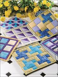 free patterns quilted potholders through the window pot holders free beginner quilt pattern download