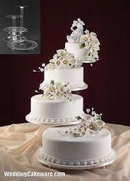 cheap wedding cakes cheap wedding cake stands tier cascade wedding cake stand stands