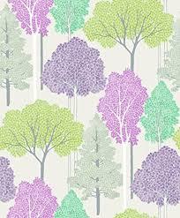 wallpaper with trees amazon co uk