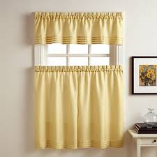 Jc Penneys Kitchen Curtains by Kylie Rod Pocket Kitchen Curtains Jcpenney