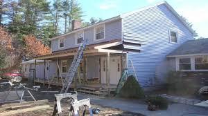 Building A Porch Roof Porch Roof Framing by Farmer U0027s Porch Hamann Carpentry Www Hamanncarpentry Com Youtube