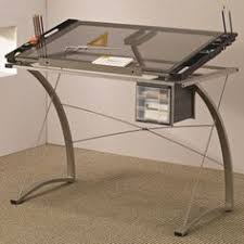 Glass Top Drafting Drawing Table Us 189 99 New In Crafts Art Supplies Drafting Artsy Stuff