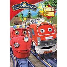 chuggington fire patrol rescue dvd target