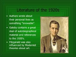 literature themes in the 1920s gatsby and the roaring twenties