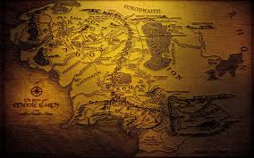 Lord Of The Rings Map Lord Of The Rings Map Wallpapers Wallpaper Cave