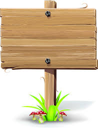 vector wooden signs design elements free vector in encapsulated