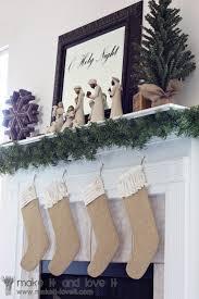 childrens stocking burlap stocking christmas by lovelylittlebabies