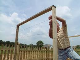 Wooden Trellis Plans How To Build A Trellis For Growing Peas How Tos Diy