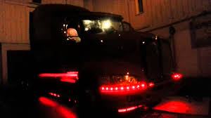 kw truck parts kenworth truck led install youtube