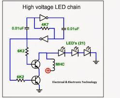 high voltage series led driver circuit electrical u0026 electronic