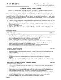 Microsoft Works Resume Template Amusing Principal Resume Template For Educator Resume Examples