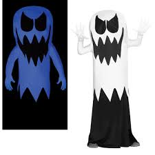 Glow Dark Halloween Costumes Kids Floating Ghost Glow Dark Costume Ebay