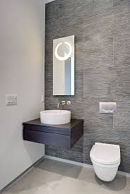 Wallpapers For Bathrooms Magnificent Contemporary Wallpaper For Bathrooms Also Minimalist
