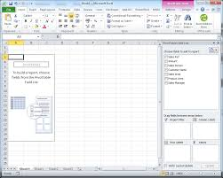 Creating A Pivot Table In Excel Creating A Basic Report In Excel 2010 Using Slicers And Publish It