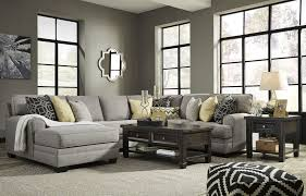 cresson pewter laf chaise sectional from ashley coleman furniture