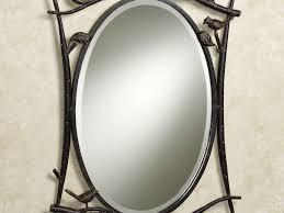 bathrooms design swivel bathroom mirror white framed trim pivot