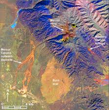 Map Of Southern Utah by Landsat Continuous Tone Map Of Mineral Groups And Vegetation