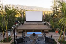 backyard amphitheater elan home systems award winning home