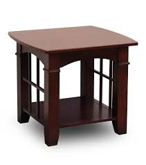 Vancouver Oak Coffee Table - mission style end tables and lights house design
