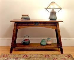 mission style console table 297 best craftsman style tables images on pinterest woodworking