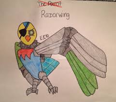 the parrot to razor wing by chickie456 on deviantart