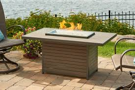 Glass Fire Pit Table Amazon Com Outdoor Greatroom Brooks Fire Table Patio Lawn