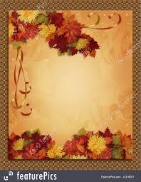 halloween fall background holidays thanksgiving autumn fall border stock illustration