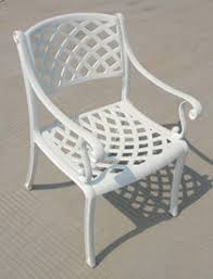 White Patio Chair Patio Dining Chairs Patio Furniture