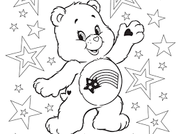meet lotsa heart elephant care bears coloring ag kidzone