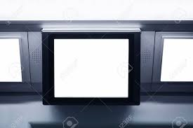 light boxes for photography display blank lcd screen light box template display commercial ads stock