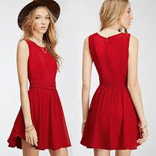 2016 design women dress for wholesale red bodycon western dresses