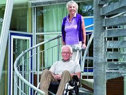 portable stair lift attach to wheelchair climbs stairs max