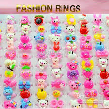 childrens rings children s rings lovely jewelry childhood fashion ring mix