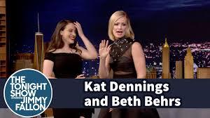 kat dennings 2017 wallpapers beth behrs raps an anti drug psa with kat dennings youtube