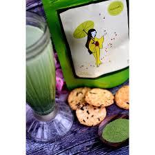 Teh Matcha amai sweet matcha jepang 100g sweetened green tea powder teh