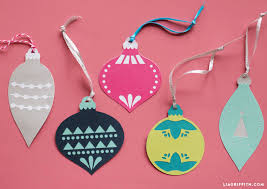 papercut ornament gift toppers lia griffith