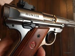 ruger mark iv 4 hunter stainless for sale