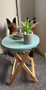 Asda Side Table Folding Table Blue Furniture George