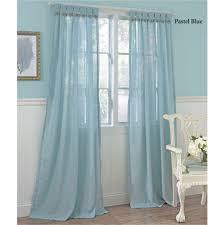 Sheer Blue Curtains Sheer Blue Curtains Duck River Textile Blue Sheer Curtain Panel