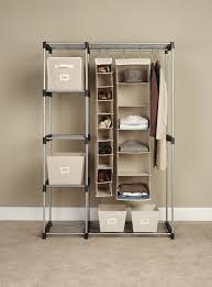 clothing storage ideas for small bedrooms amazon com whitmor 6779 3044 double rod closet silver closet