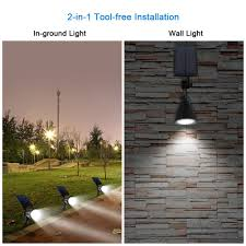 Solar Lights For Backyard Innogear 3rd Generation Motion Sensor Solar Lights Outdoor