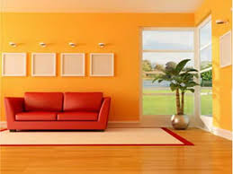 yellow color wall design rift decorators
