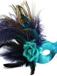 peacock masquerade masks turquoise masquerade masks with feathers peacock navy