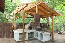 How To Build A Pizza Oven Shelter HowToSpecialist How To Build - Backyard shelters designs