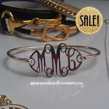 sterling silver monogram bracelet 105 best heartstrings monogram jewelry and gifts images on