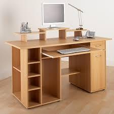 Flat Pack Computer Desk San Diego Beech Home Office Computer Workstation Aw12004 Office