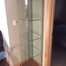 glass cabinet for sale find more ikea detolf glass cabinet for sale at up to 90 off