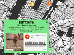 Williamsburg Brooklyn Map Explore The Homes Of Nyc U0027s Notable Writers With An Audio Narrated
