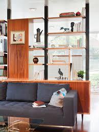 bookshelf room divider living room modern with book shelves