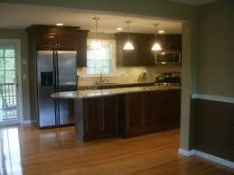 Kitchen Hardwood Flooring Photos Of Kitchens With Dark Cabinets With Hard Wood Floors